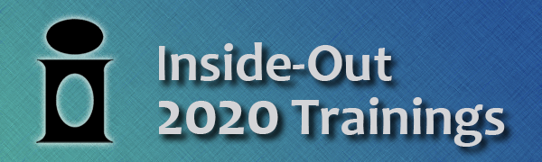 Announcing the 2019 Inside-Out Training Schedule