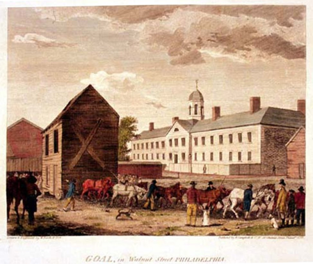 Philadelphia's Walnut Street Jail